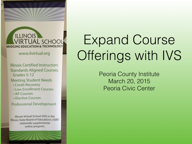 Using Online Learning to Expand Course Offerings