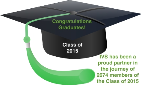 IVS has been a proud partner in the journey of 2674 members of the Class of 2015